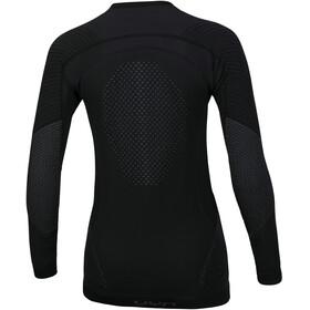 UYN Fusyon UW LS Shirt Women Black/Anthracite/Anthracite